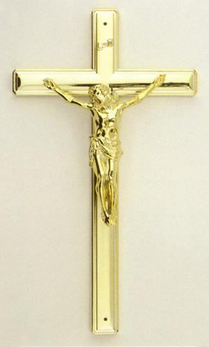 11 inch Plain Crucifix