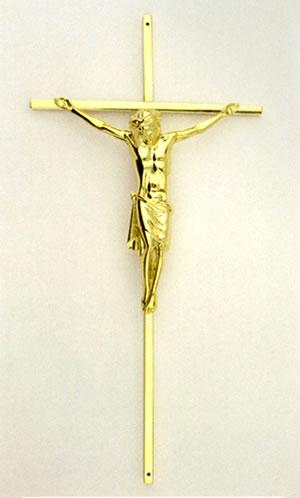 16 inch Metal Crucifix